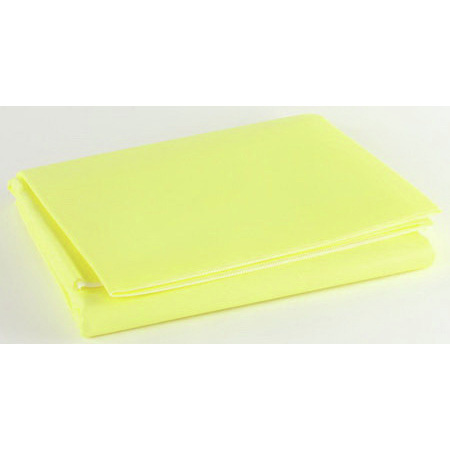 Emergency Barrier Trauma Blanket, Yellow, 60in x 90in