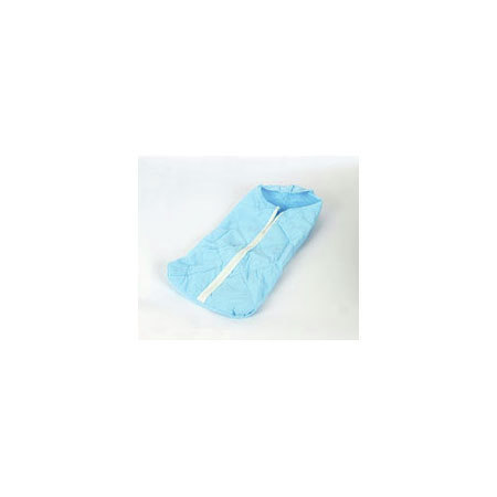 Quilted Blanket, Light Blue, 38in x 36in