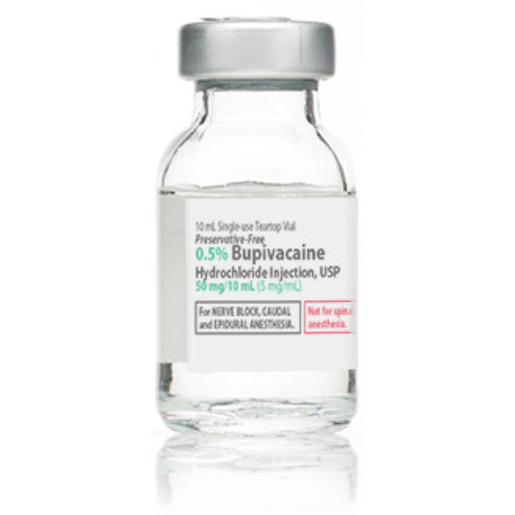 *Box Quantity* Bupivacaine Vial, 0.5%, 30mL