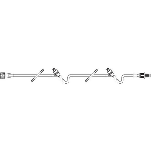 Standard Bore IV Extension Set, 3.3mL, 20in L