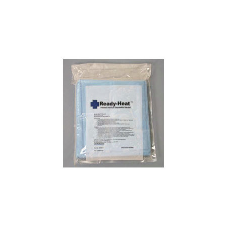 Ready-Heat 6-Panel Blanket, Disposable, Blue, 34in x 60in