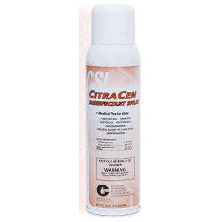 CitraCen Disinfectant Aerosol Spray, 16oz *Non-Returnable and Non-Cancelable*