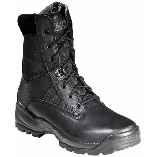 5.11® A.T.A.C.® Men's 8in Side Zip Boots, Black, 11 Size, Regular Width