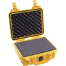 1200 Series Protector Case with Foam, Yellow