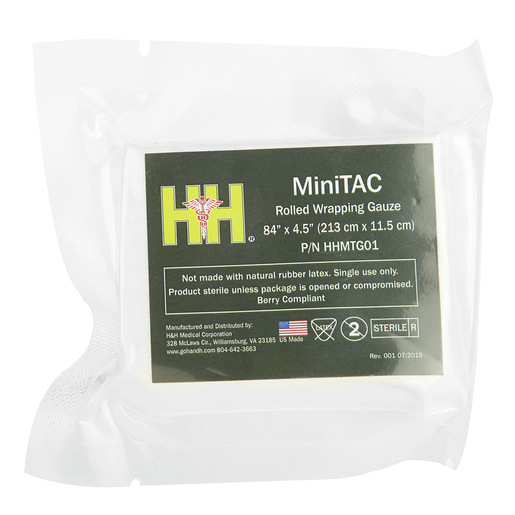 MiniTAC™ Rolled Wrapping Gauze