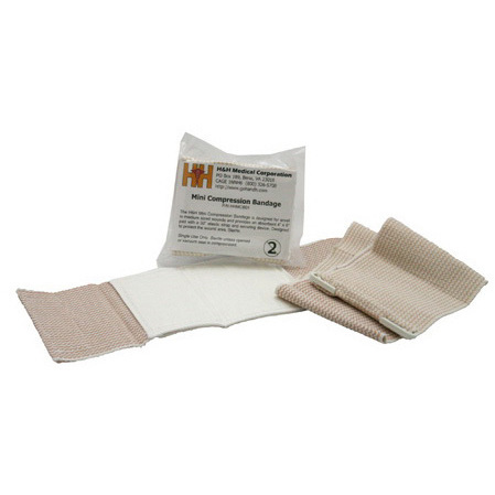 Mini Compression Multi-Trauma Bandage, 4in x 7.5in Pad