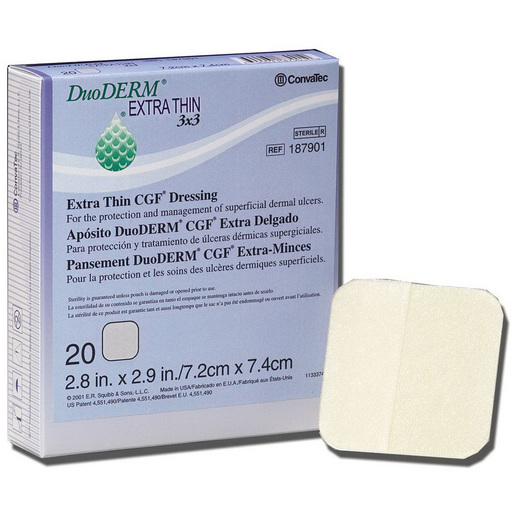 DuoDERM Extra Thin Dressing, 2in x 4in