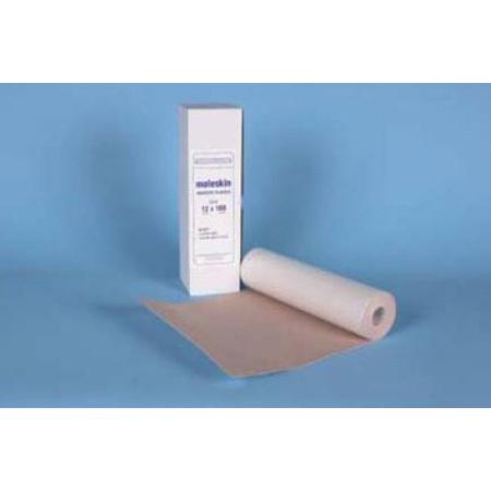 Moleskin Roll, Adhesive, 12in x 5yd