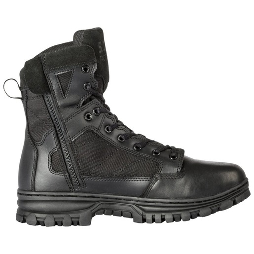 5.11® Men's 6in EVO Boots With Side Zip, Black, Size 13, Wide
