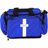 500 Semi-Rigid Trauma Bag, Small, Royal Blue, 18in L x 14in W x 11in H