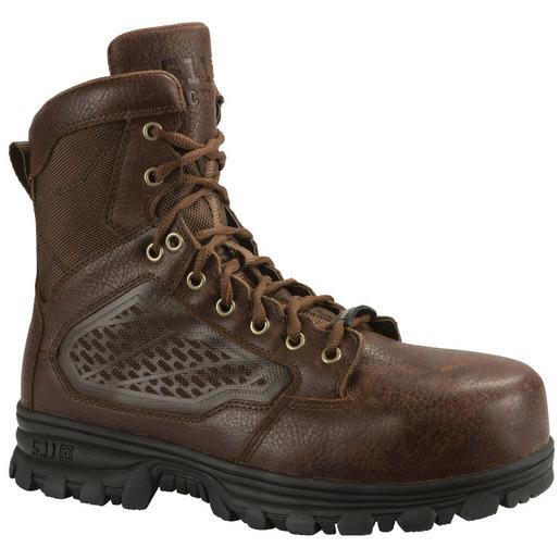 5.11® Men's 6in EVO CST Boots, Bison, 4 Size, Regular Width