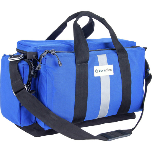 *Discontinued* Curaplex® 300D Large ALS Bag, Royal Blue w/ 3 Modules and Sharps Container