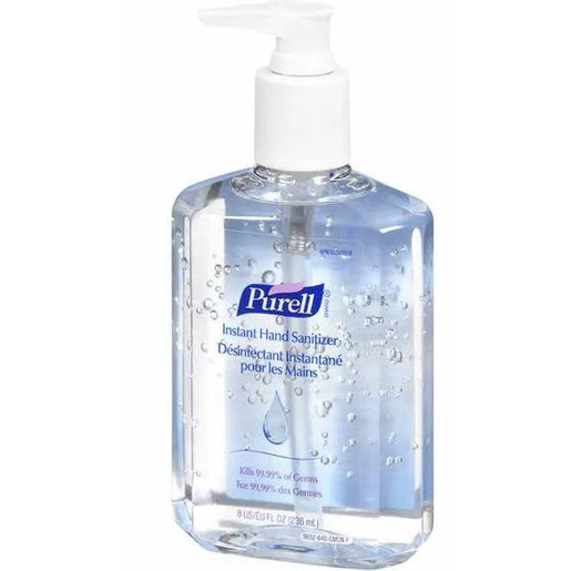 Purell® Instant Hand Sanitizer, 8oz, Pump