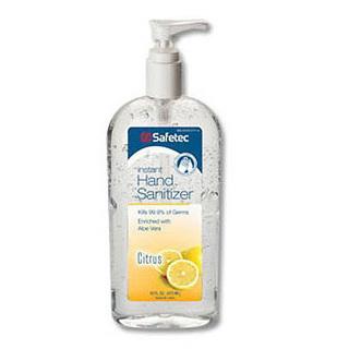 Instant Hand Sanitizer Citrus Scent (A.B.H.C.) Flip Top