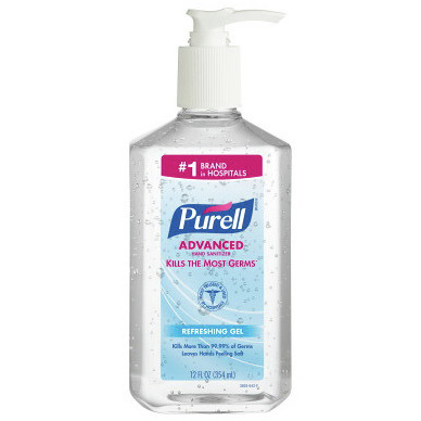Purell® Advanced Hand Sanitizer, 12oz