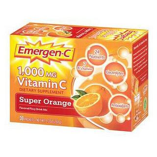 Emergen-C® Vitamin C Supplement Drink Mix, 1000mg, Orange Flavor