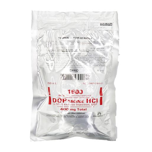 Dopamine 400MG/D5W 250Ml Bag