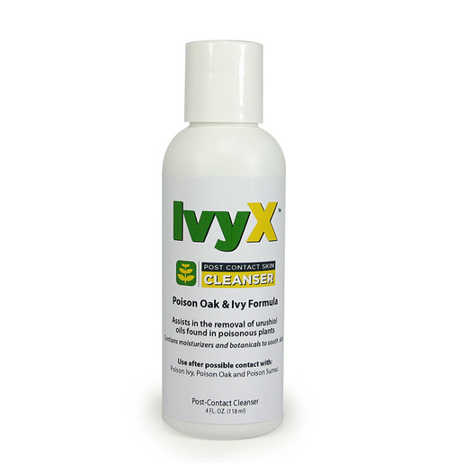 IvyX Post-Contact Cleanser, 4oz Bottle