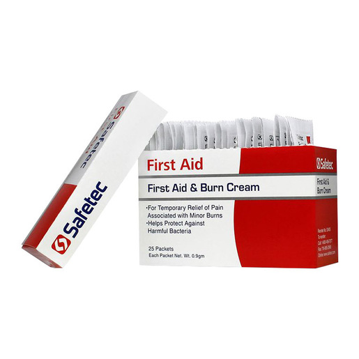 First Aid & Burn Cream with Benzalkonium and Lidocaine, 0.9g Unit Dose