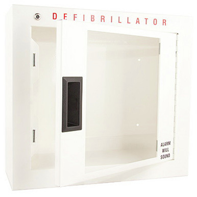AED Cabinet, 15in H x 16.5in W x 6in D