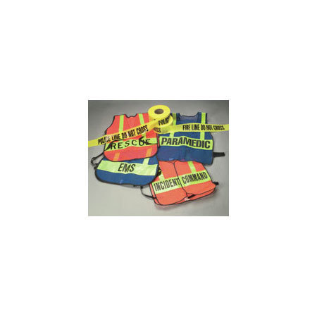*Discontinued* Polyethylene Barricade Caution Tape, Police Line Do not Cross Printed, 1000ft L x 3in W