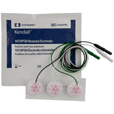 Kendall™ Kittycat® 1051NPSM Cloth Electrodes, Neonatal/Pediatric, 2.5cm Size