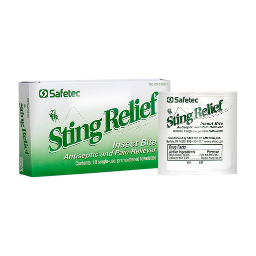 Sting Relief Products
