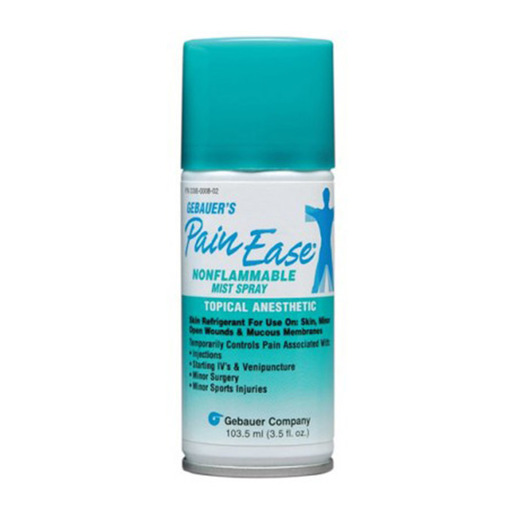Gebauer's Pain Ease Mist Spray, Anesthetic Topical Instant, 3.5oz