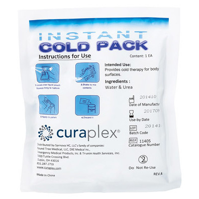 *Discontinued* Curaplex® Cold Pack, Medium, 6.69in x 6.69in