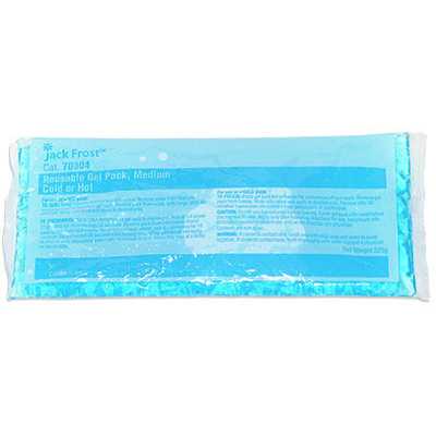 Reusable Hot/Cold Gel Pack, Medium, 4-1/2in x 10-1/2in