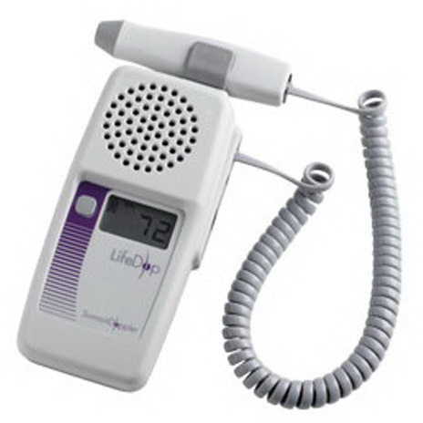 Summit LifeDop 250 Series Hand-Held Doppler with 4MHz Vascular Probe, 35mm L x 70mm W x 140mm D