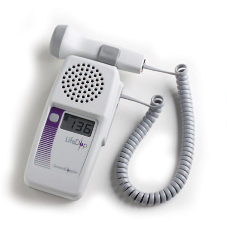 Summit LifeDop 250 Series Hand-Held Doppler with 8MHz Vascular Probe, 35mm L x 70mm W x 140mm D