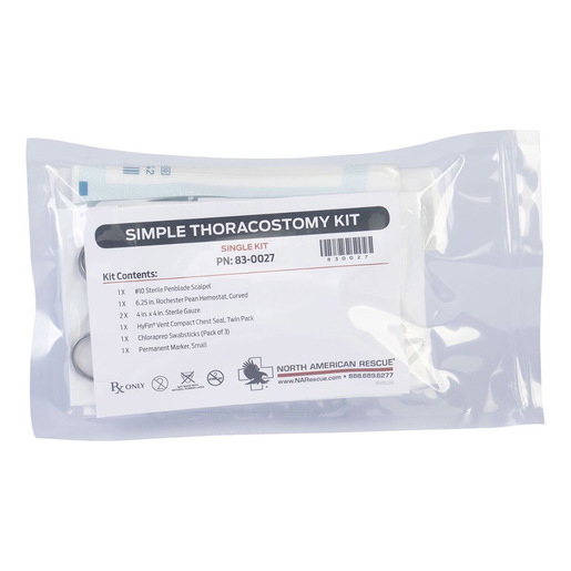 Finger Thoracostomy Kits (Simple Thoracostomy Kit)