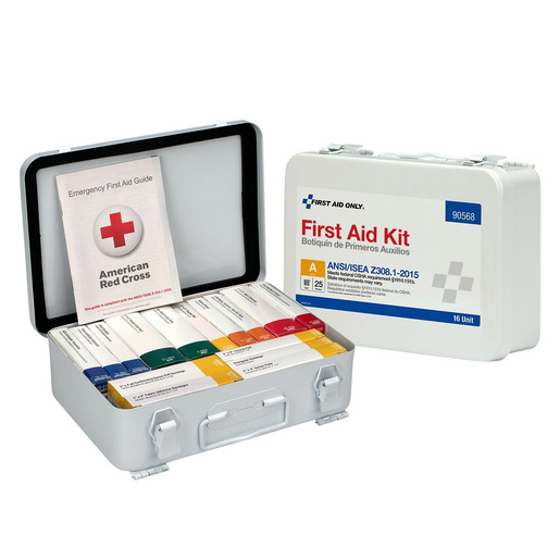 Unitized First Aid Refill, ANSI Compliant, 25 Person