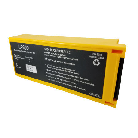 Lithium/Sulfur-dioxide Battery, 12V