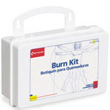 Burn Kit, 10 Unit Plastic Case