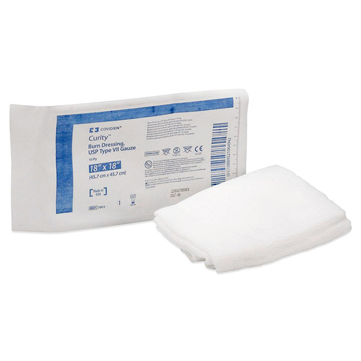 Curity™ Burn Dressing 18in x 18in, 10-ply