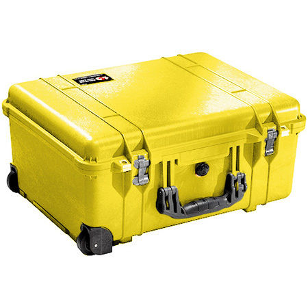 1560 Series Large Protector Case™ with Foam, Yellow