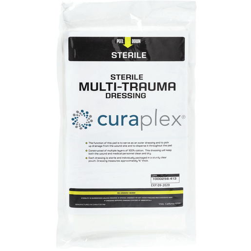 Curaplex® Multi-Trauma Dressing, 12in x 30in