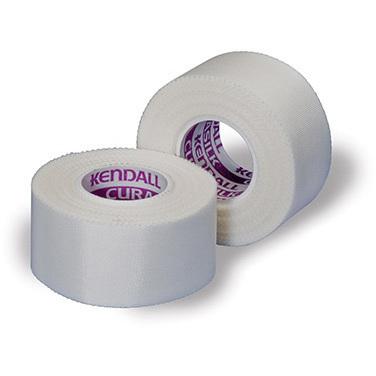Kendall™ Curasilk™ Hypoallergenic Silk Tape, White, 10yd L x 3in W
