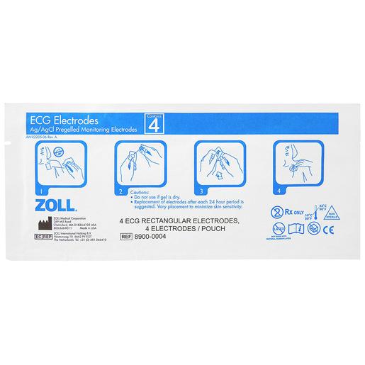 8900 Series Foam 4 Liquid Gel Lead Electrodes, Adult