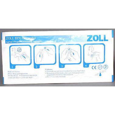 8900 Series 6 Lead ECG Electrodes, Adult
