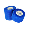 Self-adhering Cohesive Bandage, Blue, 1in x 5yd