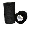Self-adhering Cohesive Bandage, Black, 2in x 5yd