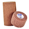 Self-adhering Cohesive Bandage, Tan, 4in x 5yd