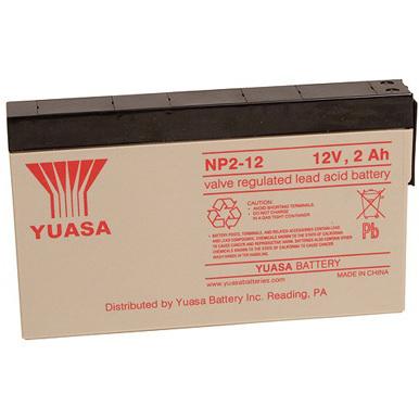 Battery, 2Ah, 12V