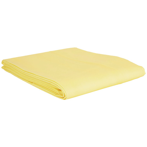 Curaplex® Disposable Emergency Highway Blanket, Tissue/Poly, 58in x 90in, Yellow