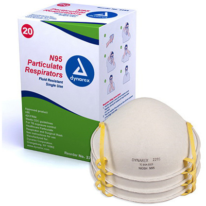 N95 Particulate Respirator Mask, Molded
