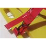 Curaplex® Vinyl Coated Nylon Cinch Dual BioStrap, Red