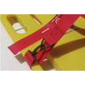 Curaplex® Vinyl Coated Nylon Cinch Dual BioStrap, Orange